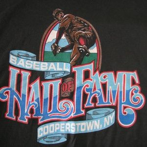 Vintage Baseball Hall of Fame- Cooperstown Tee, XL